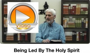 Being Led by Holy Spirit